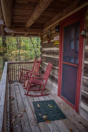 An Older Remodeled Cabin Living Room With Electric Log Fireplace Two Bedrooms One With A Double Bed One With Two Twin Beds Bunk Room With Six Bunks